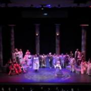 UCSC Opera: Orpheus in the Underworld: Jupiter and Juno's Minuet with Lauren Bumgarner as Diana