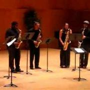 "UCSC Sax Ensemble plays ""Resolution"""
