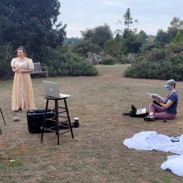 Recording at the UCSC Arboretum